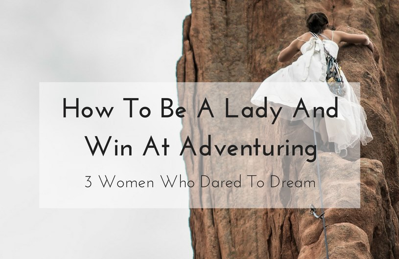 women adventuring
