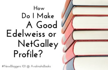 a good edelweiss or netgalley profile