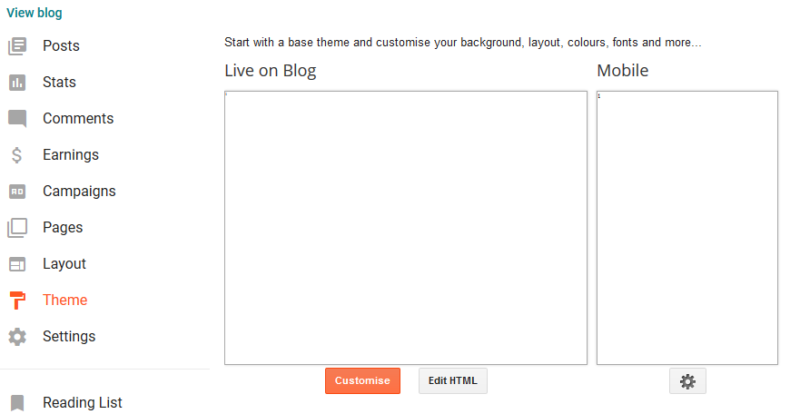 redirect your blog