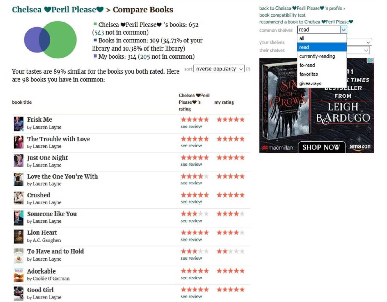 Compare Books