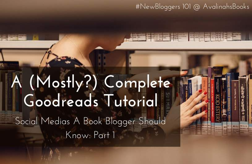 goodreads tutorial