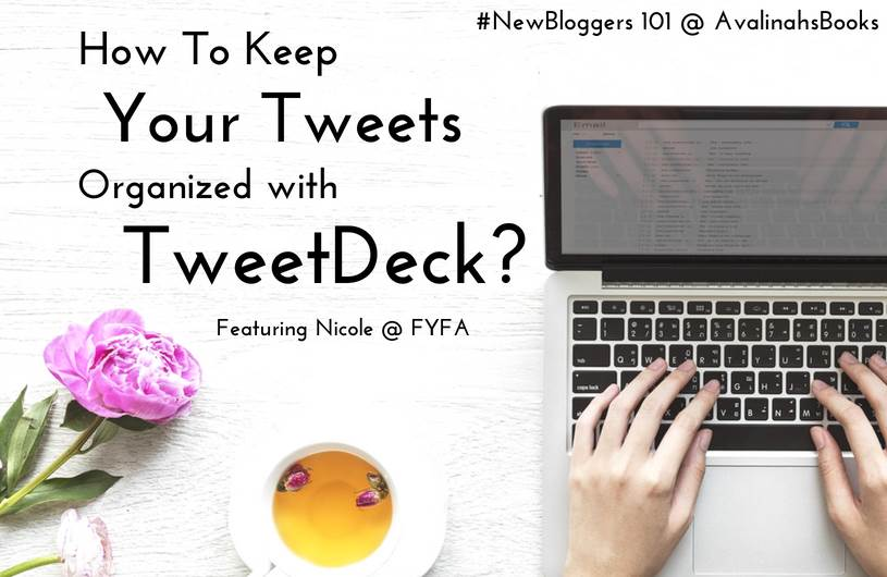 tweetdeck book bloggers
