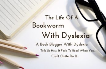 bookworm with dyslexia