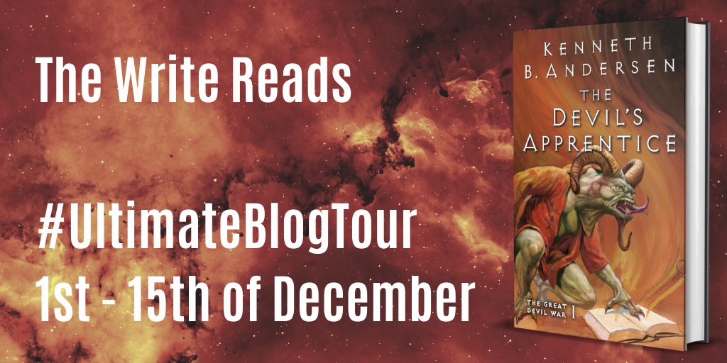 devil's apprentice blog tour banner