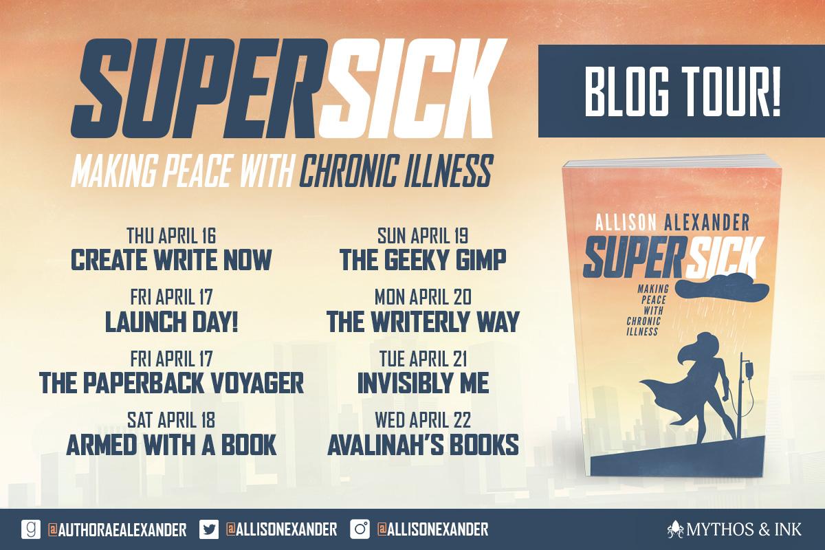 super sick blog tour banner
