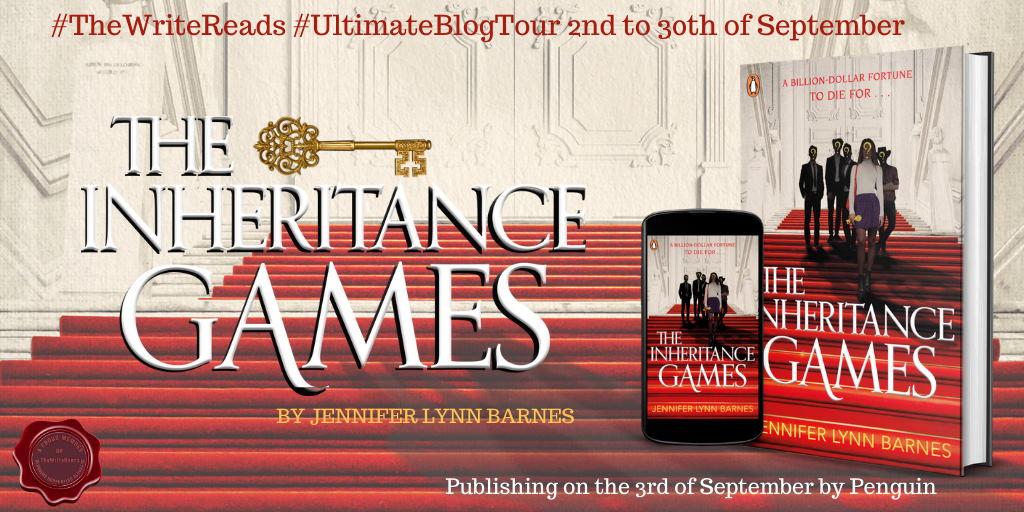 The Inheritance Games Banner