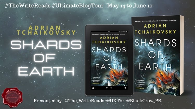 shards of earth tour banner