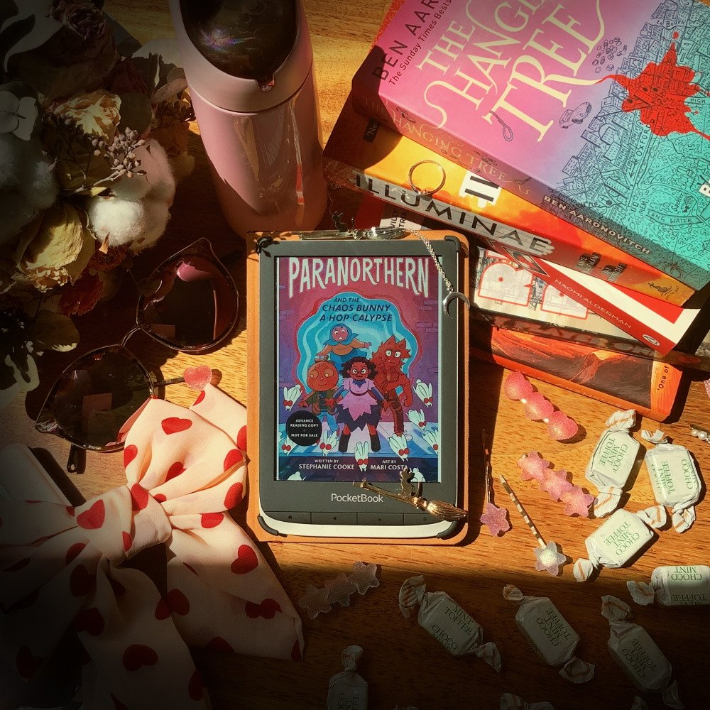 paranorthern photo for bookstagram